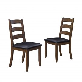Granary Modern Farmhouse Ladderback Dining Chairs, Set of 2