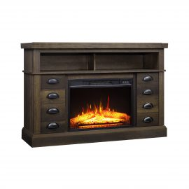 Granary Modern Farmhouse Fireplace Console for 55